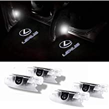 Car Door LED Light Projector Ghost Shadow Lights Welcome Lamp for Lexus RX/ES/GX/LS/LX/IS Series (4 Pack)