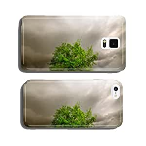 Green tree among the stumps cell phone cover case iPhone6 Plus