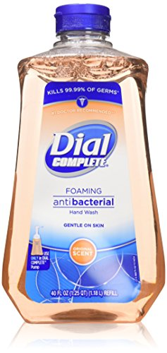 Professional Skin Conditioner Refill (Dial Original Antibacterial Foaming Hand Soap Refill, 40 oz, 1 each)