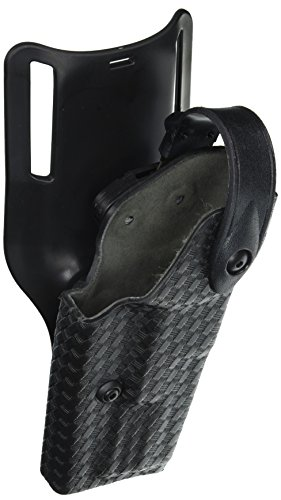 Safariland 6285 Level II SLS Retention Duty Holster, 1.5-Inch Belt Drop, STX Black Basket weave, S&W M&P 9, 40 (Right Hand) (Holster Belt 6285 Duty Drop)