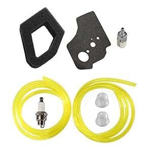 Huri Filtro de aire combustible línea batería para RePower Kit de juntas para Honda GX35HHT35HHT35S String Trimmer Desbrozadora