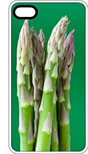 Freshly Picked Garden Asparagus White Plastic Case for Apple iPhone 5 or iPhone 5s