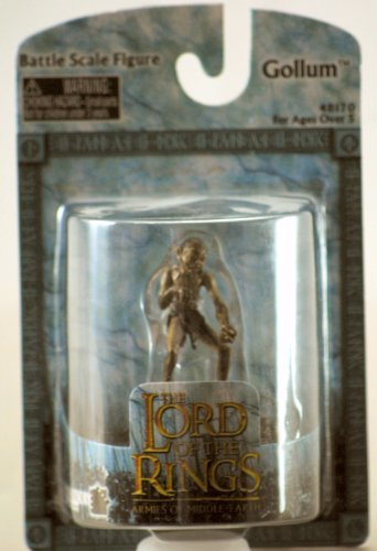 Lord of the Rings Gollum Figure Exclusive Armies of Middle Earth Battle -