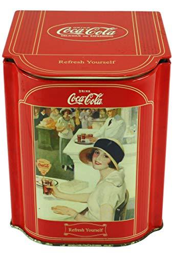 Coke Slope Lid Caddy