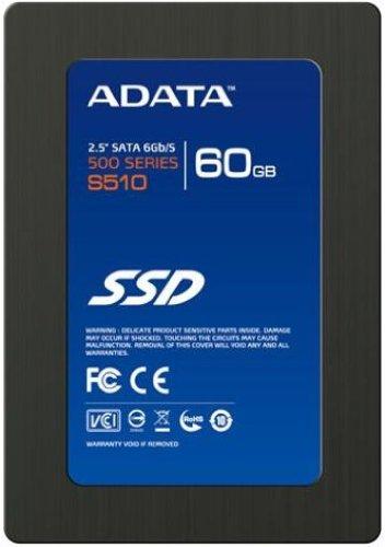 ADATA S510 - Disco duro sólido (Serial ATA III, Negro, 2.5