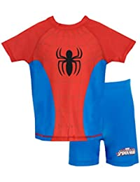 Boys Spider-Man Two Piece Swim Set
