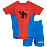Spiderman Boys' Spider-Man Two Piece Swim Set