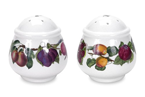 (Portmeirion Pomona Salt and Pepper Set)