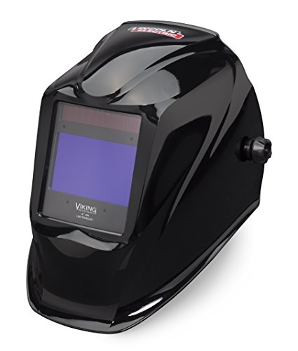 Lincoln Electric VIKING 2450 Black Welding Helmet with 4C Lens Technology - - Technology Lens