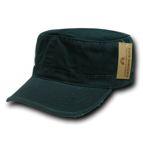 (Rapiddominance Vintage BDU Cap, Black, Small)