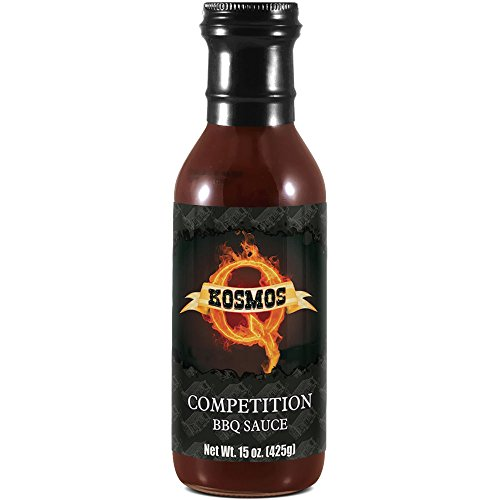 Competition BBQ Sauce 15oz Bottle - Best Barbeque Sauce - GLUTEN - The Bbq Best Sauce