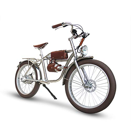 ANTLERSLANE Electric Bicycles Vintage Style 304 Stainless Steel Shaft Drive System (Retro R)