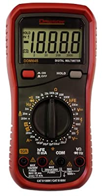 Dawson Tools DDM645 Digital Multimeter with 20,000 Count Display