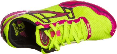 Brooks Mujeres Pr Md 54.26 Picos De Pista Pink Glow Nightlife Antracita