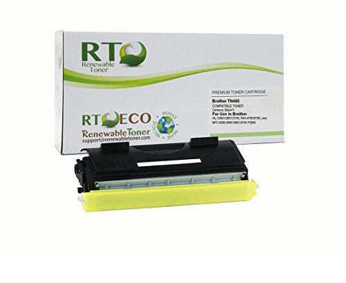 - Renewable Toner Compatible Toner Cartridge Replacement for Brother TN460 TN-460 Laserjet HL-1240 1250 1270N FAX-4750 5750 MFC-8300 8500 8600 8700 P2500