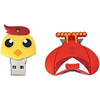 MonkeyJack Cartoon 128GB USB2.0 Flash Drive Memory Stick Storage Thumb Pen U Disk for Laptop