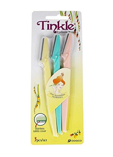 Tinkle Eyebrow Razor 3 Pack, D120