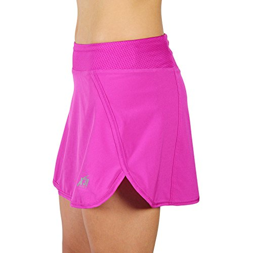 Unique Women39s Essential Tennis Skirt With Pockets Black XLarge  Tennis