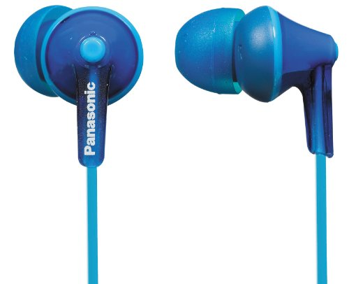 Panasonic RP-HJE125 Ergo Fit In-Ear Headphone - Blue
