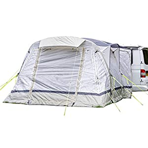 OLPRO Outdoor Leisure Products Loopo Breeze 3.9m x 3.1m Inflatable Drive Away Campervan Awning Sage Green & Chalk