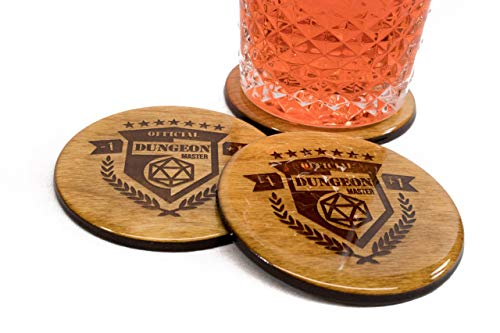 Official Dungeon Master Coasters - 3.5