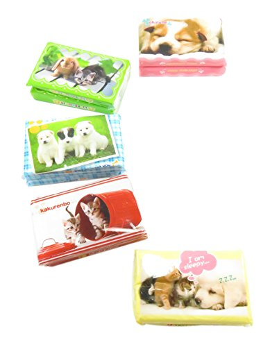 UPC 697111828618, Adorable 2-Ply Mini Facial Pocket Tissues White 3.25 x 2.25 Dog Cat Bunny (Pack of 20)