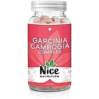 Garcinia cambogia complex - Integratore Nice Nutrition per la perdita di peso - Riduce la fame, la stanchezza fisica e mentale - Aiuta a mantenere i corretti livelli di glucosio   Prodotto in Italia