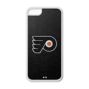Hard Rubber Special Design iPhone 5c Cover Philadelphia Flyers Case for iPhone 5c
