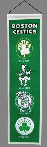 NBA Boston Celtics Heritage Banner