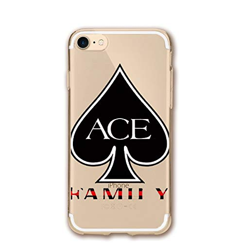Ace Cell Phone - Fashion iPhone 8 Case iPhone 7 Case ACE Family Scratch Proof Shock Absorption Mobile Phone Shell 4.7-inch