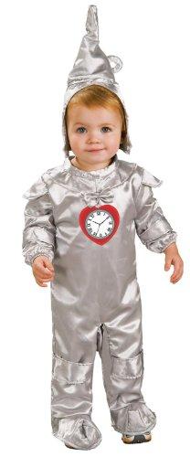 Rubies Wizard of Oz Tin Man Toddler Romper Halloween Child Costume (Tin Man Costume Toddler)