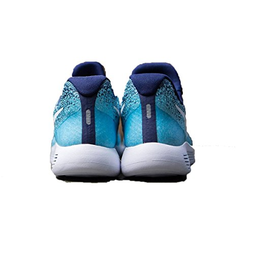 5 NIKE Running Blue Flyknit 6 Blue 2 White LunarEpic Binary Low Womens Shoe Polarized p1rUpqO