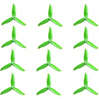 6 Pair DALPROP T5045C Cyclone 5 Inch 3 Blade Propeller Clover Prop for RC Drone FPV Racing-Green