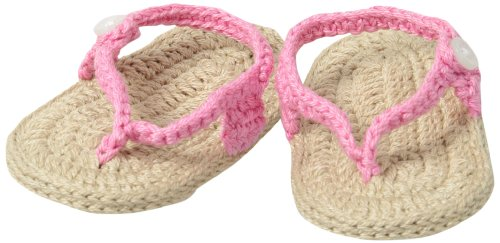 Jefferies Socks Baby-Girls Newborn My First Flip Flops Girl Bootie
