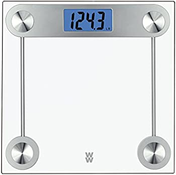 Conair Digital Glass Bathroom Scale, 400 Lbs. Capacity