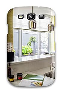 Galaxy S3 Case Bumper Tpu Skin Cover For Modern Kitchen With Stainless Steel Sink And Marble Cutting Block Accessories