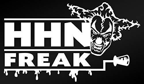 HHN Jack Decal (6 x 3.5 inches) UOAP - Halloween Horror Nights -