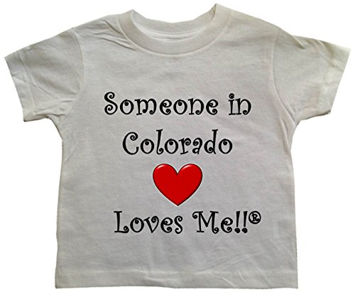 BigBoyMusic SOMEONE IN COLORADO LOVES ME - State Series Toddler T-shirt - size Small (2T)
