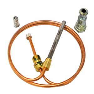 """FURNACE THERMOCOUPLE KIT 24"""" ONETRIP PARTS® DIRECT REPLACEMENT FOR RHEEM RUUD WEATHERKING 62-25113-02"""