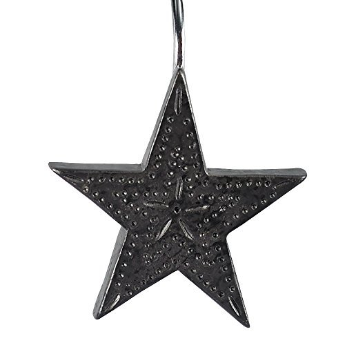 Park Designs Tin Star Shower Curtain Hooks