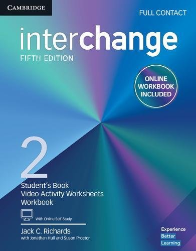 Interchange Level 2 Full Contact with Online Self-Study and Online Workbook