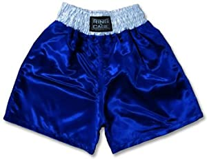 Amazon.com: Kids Boxing Shorts-Blue: Sports & Outdoors
