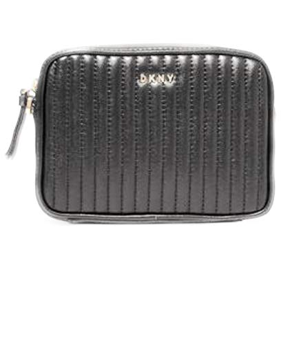 Wristlet Bag Quilted Leather Nappa DKNY Pinstripe Lamb Clutch S10XqX