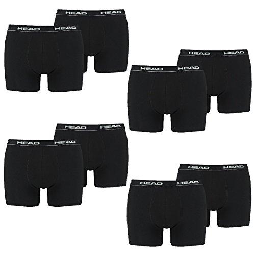 HEAD Men Boxershort Basic Boxer 8er Pack, Größe:M;Farbe:black
