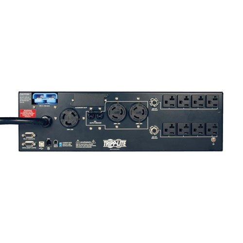 Tripp Lite SMART5000XFMRXL 5000VA 3750W UPS Smart Rackmount AVR 120V/208V 5kVA USB DB9 3URM, 11 Outlets