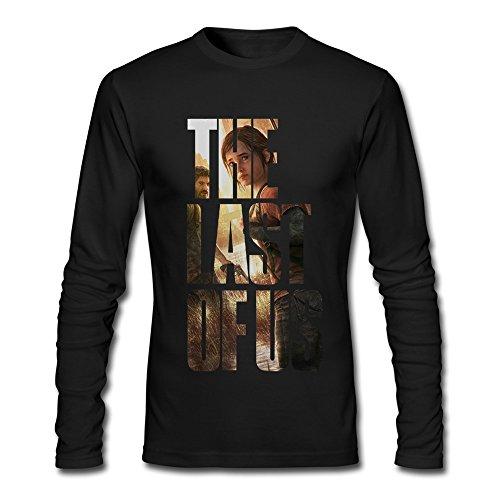 EnHui Adult The Last Of Us Poster O Neck Long Sleeve T Shirt (Last Ps4 Us O)