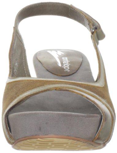 Antilop Kvinna 755 Slingback Sandal Mocka