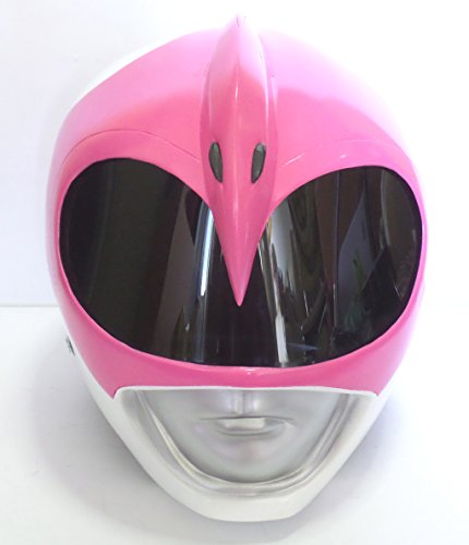 [Costume Helmet 1/1 Scale Life-Size !! Mighty Morphin Power Rangers PINK RANGER Cosplay Mask Props] (Power Rangers Masks)