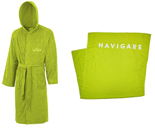 Dry Telo Microspugna Panca Fitness Verde Lime Unisex Accappatoio Ultra Navigare Kit p1xff
