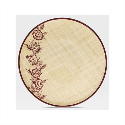 Noritake Tapestry Rose 9-Inch Salad Plate, Coupe Shape